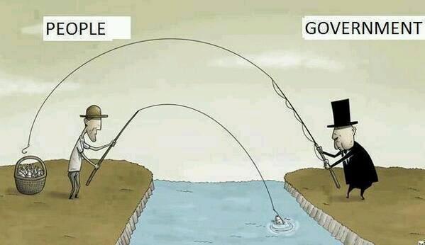 Wir Steueresel …